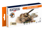 HTK-CS95 WW2 Soviet AFV paint set
