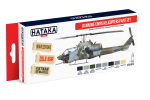 HTK-AS14 USMC Helicopters Paint Set