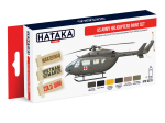 HTK-AS19 US Army Helicopters Paint Set