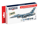 HTK-AS30 USAF Aggressor Squadron paint set vol. 2