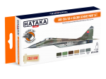 HTK-CS105 MiG-29A/UB 4-colour scheme paint set