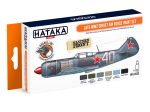 HTK-CS20 Late WW2 Soviet Air Force paint set
