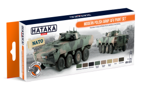 HTK-CS72 Modern Polish Army AFV paint set