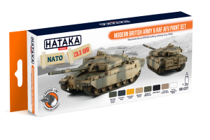HTK-CS77 Modern British Army & RAF AFV paint set