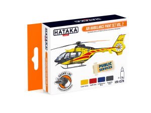 HTK-CS79 Air Ambulance paint set vol. 2