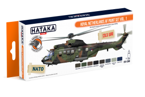HTK-CS80 Royal Netherlands AF paint set vol. 1