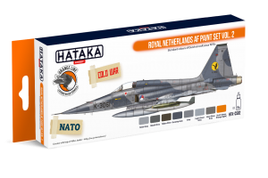 HTK-CS82 Royal Netherlands AF paint set vol. 2