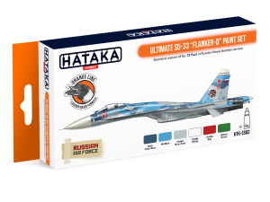 "HTK-CS83 Ultimate Su-33 ""Flanker-D"" paint set"