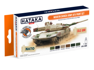 HTK-CS84 Modern Danish Army AFV paint set