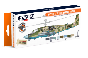 HTK-CS86 Russian AF Helicopters paint set vol. 1