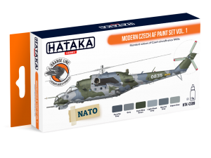 HTK-CS89 Modern Czech AF paint set vol. 1