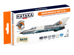 HTK-CS91 Modern Romanian AF paint set vol. 1