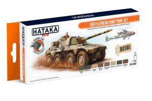 HTK-CS92 South African Army paint set
