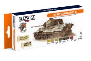HTK-CS94 Late WW2 German AFV paint set