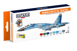 HTK-CS96 Ukrainian AF paint set vol. 1 (Blue Pixel)
