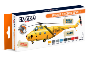 HTK-CS98 British SAR Service paint set vol. 1