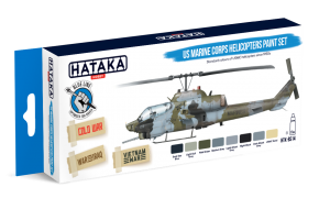 HTK-BS14 US Marine Corps Helicopters Paint Set