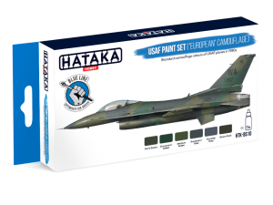 "HTK-BS10 USAF Paint Set (""European"" Camouflage)"