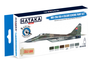 HTK-BS105 MiG-29A/UB 4-colour scheme paint set