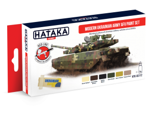 HTK-AS112 Modern Ukrainian Army AFV paint set