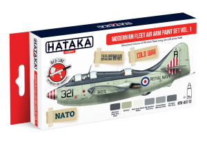 HTK-AS113 Modern RN Fleet Air Arm paint set vol. 1