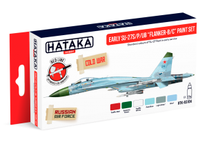 "HTK-AS104 Early Su-27S/P/UB ""Flanker-B/C"" paint set"