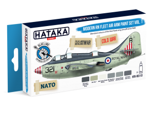 HTK-BS113 Modern RN Fleet Air Arm paint set vol. 1