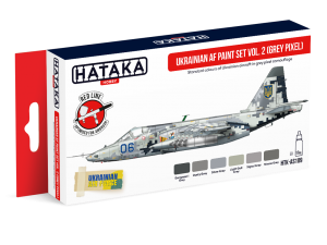 HTK-AS109 Ukrainian AF paint set vol. 2 (Grey Pixel)