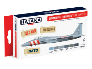 HTK-AS43 Ultimate USAF F15 Paint Set (All variants)