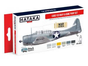 HTK-AS53 Early US Navy & USMC paint set