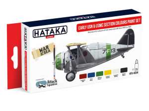 HTK-AS54 Early USN & USMC Section Colours paint set