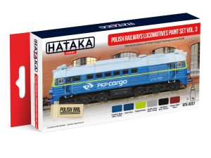 HTK-AS57 Polish Railways locomotives (PKP Cargo) paint set