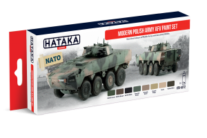 HTK-AS72 Modern Polish Army AFV paint set