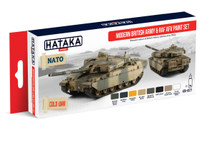 HTK-AS77 Modern British Army & RAF AFV paint set