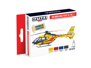HTK-AS79 Air Ambulance (HEMS) paint set vol. 2