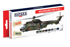 HTK-AS80 Royal Netherlands AF Paint Set Vol.1