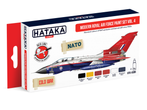HTK-AS85 Modern Royal Air Force paint set vol. 4