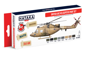 HTK-AS87 British AAC Helicopters paint set