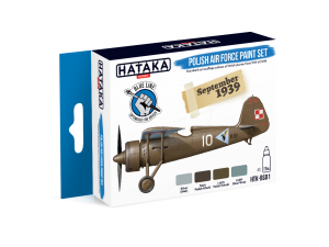 HTK-BS01 Polish Air Force paint set