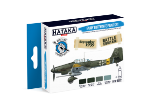 HTK-BS02 Early Luftwaffe paint set