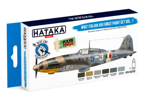 HTK-BS103 WW2 Italian Air Force Paint set vol. 1