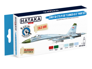 "HTK-BS104 Early Su-27S/P/UB ""Flanker-B/C"" paint set"