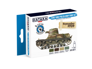HTK-BS11 Early WW2 Polish Army Paint Set