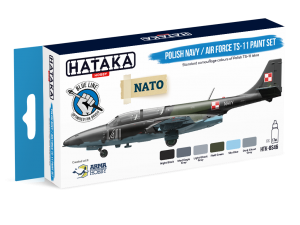 HTK-BS46 Polish Navy / Air Force TS-11 paint set