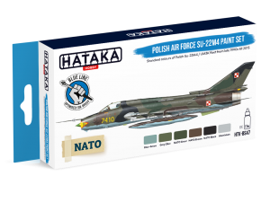 HTK-BS47 Polish Air Force Su-22M4 paint set