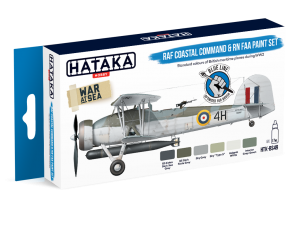 HTK-BS49 RAF Coastal Command & RN FAA paint set