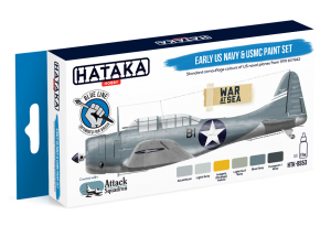 HTK-BS53 Early US Navy & USMC paint set