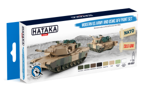 HTK-BS67 Modern US Army and USMC AFV paint set
