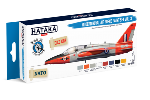 HTK-BS70 Modern Royal Air Force paint set vol. 3