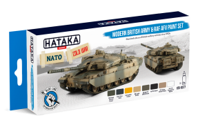 HTK-BS77 Modern British Army & RAF AFV paint set